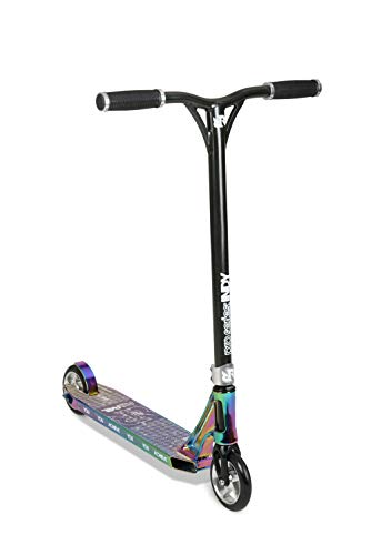 Riprail Unisex-Youth Pro Series 2 Performance Stunt Scooter Jet Fuel Deck met Cut Core Wielen, ABEC-9 Lagers, NECO Threadless Headset, CNC Machined Vork en Legering Bars, One Size