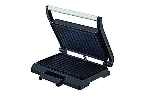 BLACK+DECKER Grill Prensa com Antiaderente Cerâmico Preto G800-BR