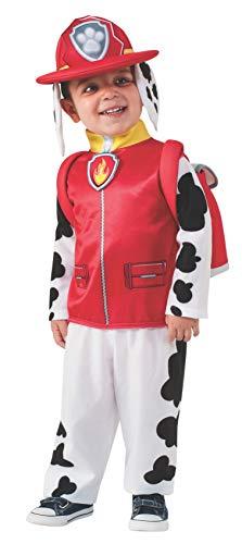 Rubie's 610501 Costume Paw Patrol, Marshall, Taglia S, 3-4 anni