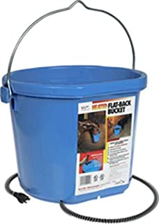 Allied Precision Industries API 5 Gallon 115 Watt Heated Flat Back Bucket 20FB