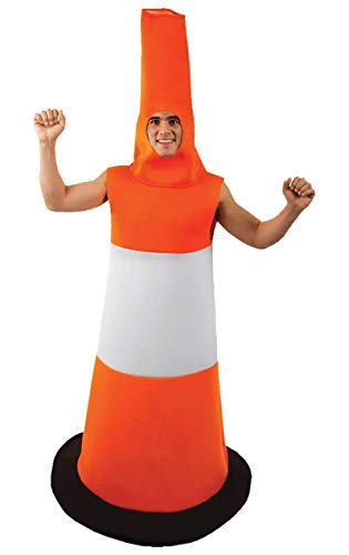 ORION COSTUMES Road Cone Costume