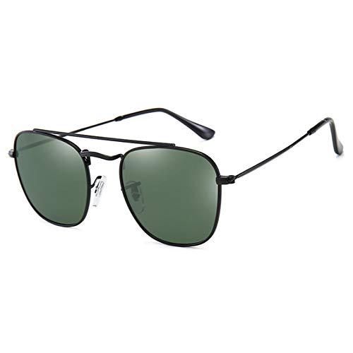 NJJX Hombres Mujeres Gafas De Sol Polarizadas Sombras Moda Gafas De Sol Gafas Retro 06