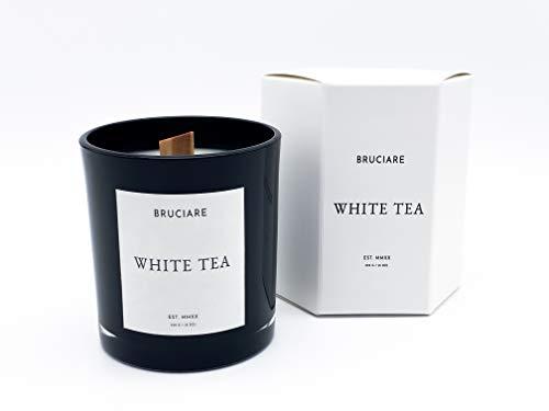 Bruciare White Tea Wooden Wick Candle (230g/8.1oz)