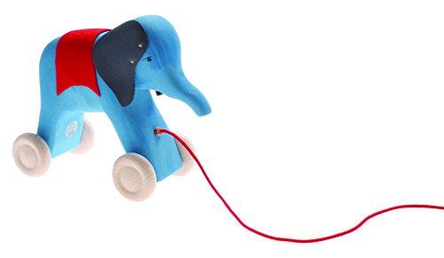 Grimms Grimm's Jeu d'éléphant et de jeu en bois Bleu