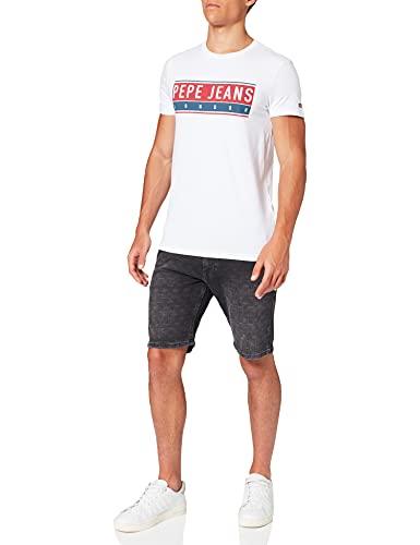 Pepe Jeans Jayo Camiseta, 800 W, L para Hombre