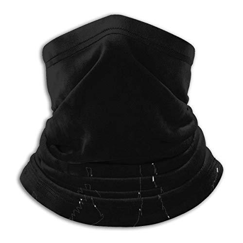 Hancal Waschbär Silhouette Kopfbedeckung Halsmanschette Wärmer Winter Skiröhrchen Schal Maske Fleece Gesichtsschutz Winddicht Für Männer Frauen Personalisiert