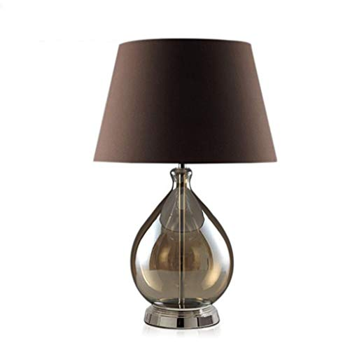 Anchor Moderna lámpara de Escritorio Minimalista de Cristal LED Dormitorio lámpara de cabecera de la Personalidad Creativa de la lámpara Gris Mantel
