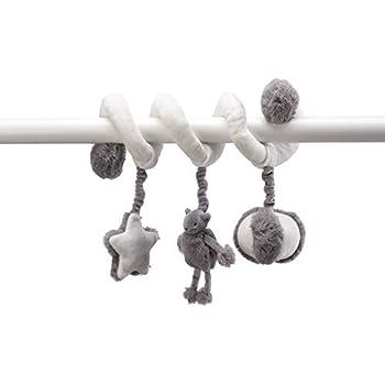Duradero y resistente Juguetes colgantes Beb/é Actividad en espiral Cochecito Asiento de coche Cochecito de ni/ño Juguete con anillo Campana Envoltura alrededor de 0-24 meses Regalos para ni/ños reci/én n