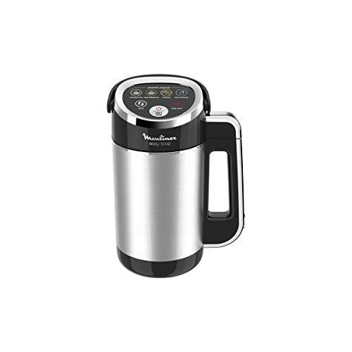 Moulinex Blender Chauffant Easy Soup Noir Silver 1000W 3L LM841810
