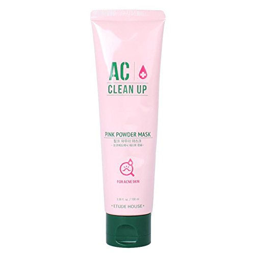 Etude House AC Clean Up Pink Powder Mask 100ml / Beautynet Korea