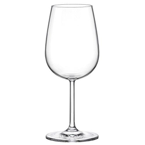Bormioli Rocco Riserva Óculos de vinho tinto frutado, conjunto de 6 – para Pinot Noir, Syrah, Côtes du Rhône, Grenache, Cesanese del Piglio