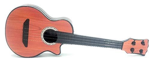 Toy Guitarra acústica de 4 Cuerdas en Miniatura, Instrumento Musical. A Partir de 3 años