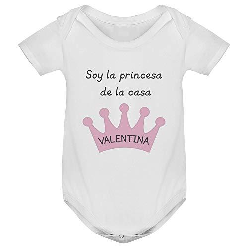 Body bebé manga corta corona personalizado, Regalo único y original para niños y niñas, Unisex bodies Recién Nacido Algodón Ropa Set