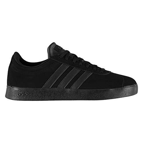 adidas VL Court 2.0, Chaussures de Skateboard Homme, Noir (Core Black/Core Black/Core Black Core Black/Core Black/Core Black), 48 EU