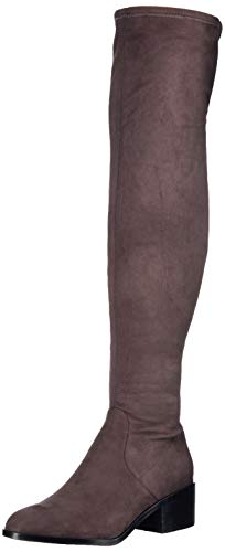 Steve Madden Women's Georgette Fashion Boot, Dark Grey, 8.5 M US