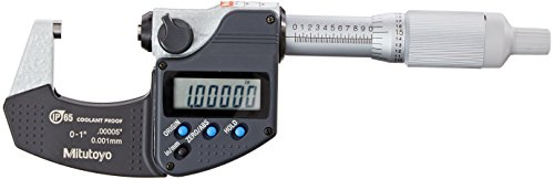 Mitutoyo 293-344-30CAL Digimatic Micrometer with Calibration, 0-1