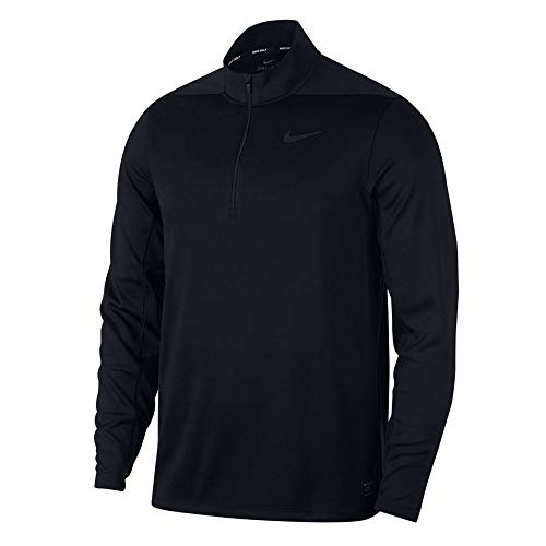 Nike Dry Top Half Zip Core OLC Golf Pullover 2019 Black Large Nebraska