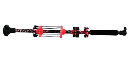 """BLUEGOBY Blowgun 24"""" .50 Cal Muddy Girl Blow Dart Gun Made in USA with 10 Target Darts, 5 Spearhead(3.5in), 5 Broadhead(3.5in), 10 Stunners"""