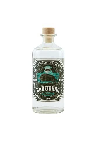 Rüdemann Korn Kornbrand Klarer Schnaps I Handcrafted I mild und bekömmlich I deutsches Qualitäts-Produkt I Flasche 500ml I 32% Alkohol I Gratis Flaschenöffner