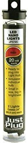 popular WOODLAND SCENICS JP5745 Just Plug rojo Nano Nano Nano LED Light (2) by WOODLAND SCENICS  protección post-venta