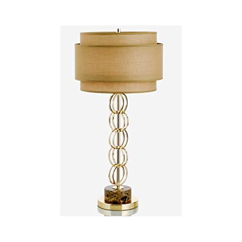Lámpara de mesa de diseño creativo de lujo, dorado, para salón, hotel, villa, personalidad, estilo postal