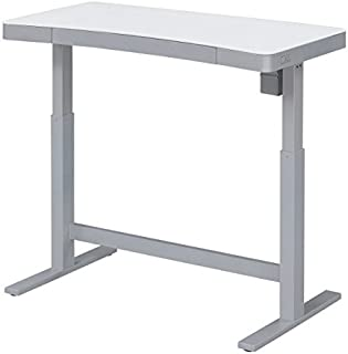 Bell'O Electric Adjustable Height Standing Desk, White