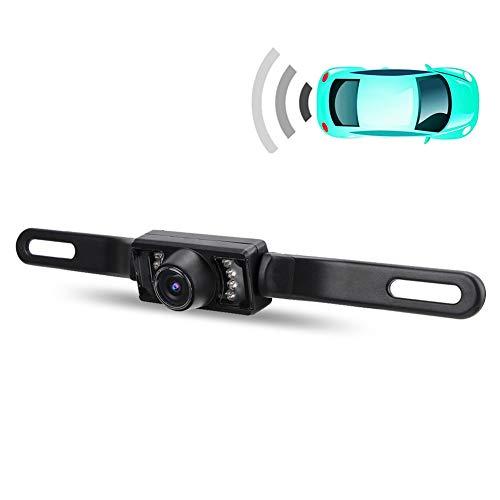 HD Camara Trasera de Reversa Vehiculos con LED Aparcamiento Marcha Atras del Coche Vision Nocturna con Infrarrojos Resistente al Agua