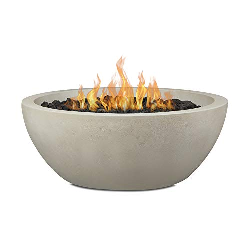 Best Review Of Real Flame Redding Medium Natural Gas Fire Bowl by Jensen Co