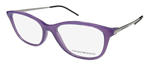 Armani 0EA3102 0EA3102 Wayfarer Brillengestelle 5, Violett/Transparent