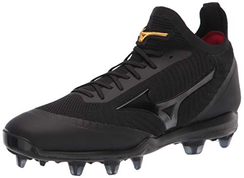 Mizuno Pro Dominant TPU Knit Men's Molded Baseball Cleat Black
