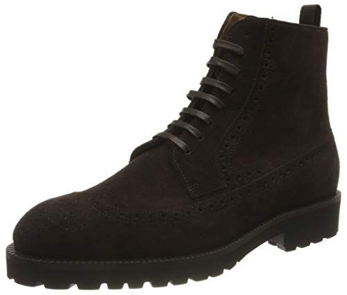 BOSS Herren Edenlug_Halb_sdwbg Half Boot, Dark Brown202, 40 EU