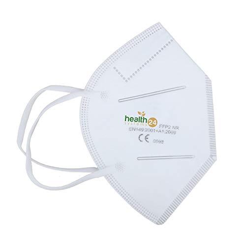 FFP2 Atemschutzmaske 20 Stück Packung einzeln Verpackt CE-Zertifizierte Atem Maske DEVELLE Schutzmaske für alle Bereiche - 2