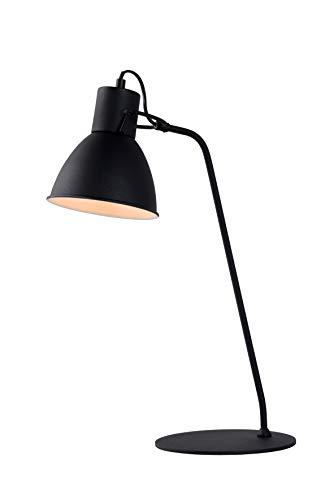 Lucide SHADI - bureaulamp - Ø 20 cm - E14 - zwart