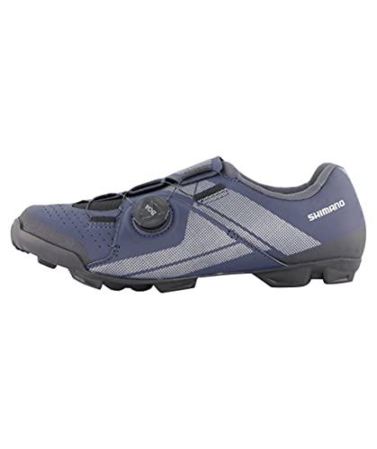 SHIMANO SH-XC3 Fahrradschuhe blau Schuhgröße EU 50 2021 Rad-Schuhe Radsport-Schuhe