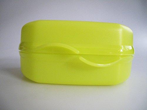 TUPPERWARE To Go Snacky limette Brotbox Kindergarten Pausenbrot Sandwich P 18107