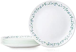 Corelle 1136756 Dinner Plates, 8-Piece, Country Cottage
