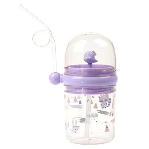 Qingsi 1 botella de agua con aerosol de ballena para beber, con forma de ballena, botella de agua, resistente a las caídas