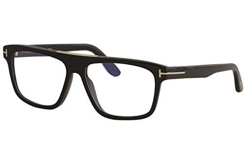 Sunglasses Tom Ford FT 0628 Cecilio- 02 001 shiny black, Shiny Black/ Blue Block...