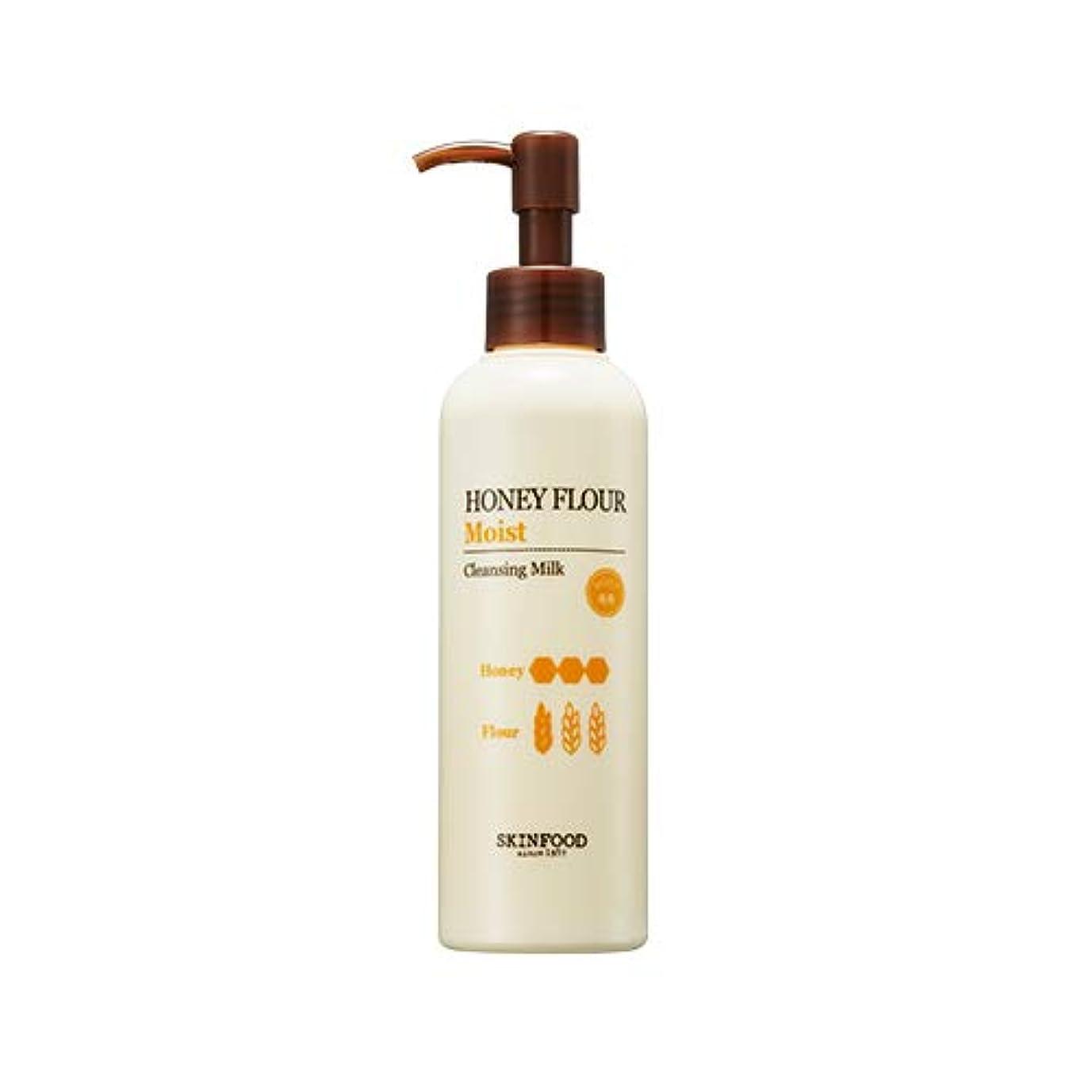 Skinfood/Honey Flour Moist Cleansing Milk/ハニー小麦しっとりクレンジングミルク/200ml [並行輸入品]