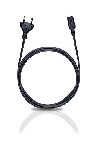 Oehlbach Powercord C7 / 150 - Netzkabel 2-polig mit Euro-Stecker (CEE7/16) - VDE geprüft - hochflexibel,...