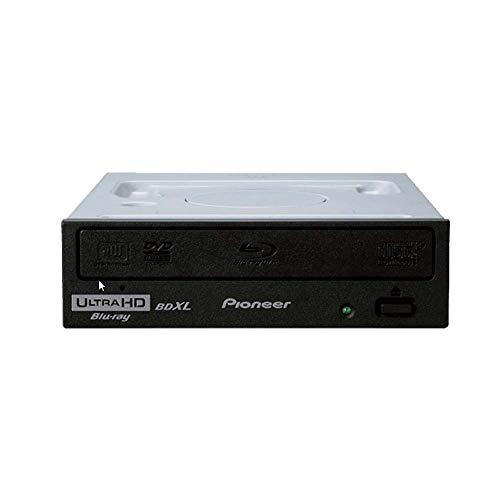 Pioneer Electronics BDR-212UBK 16x gravador interno BD/DVD/CD suporta reprodução de Blu-Ray 4K Ultra HD e formato M-Disc