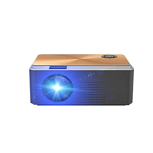 N / B Proyector de enseñanza para Oficina en casa, proyector portátil HD de 1080p, Ai Smart Voice, Principio de reflexión difusa, multipantalla Interactivo, para Oficina, Aula