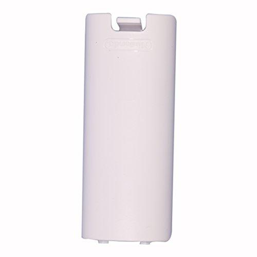 Timorn Ersatz-Batterie-Tür-Shell-Abdeckung für Wii Remote Controller (12 Stück Weiß)