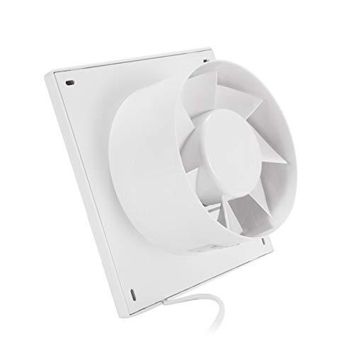 Shuxiang-rejilla de ventilación 6 pulgadas, tubo de escape silencioso del hogar del aire del ventilador de la parrilla, pared de la ventana Extractor Ventilador de techo for WC Baño Cocina de ventilac