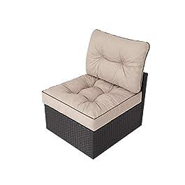 Coussin de jardin, pour chaise, fauteuil rotin, fauteuil jardin, coussin fauteuil rotin, coussin fauteuil jardin…