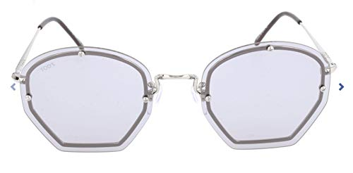 TOD'S Tod'S Sonnenbrille TO0134 Rechteckig Sonnenbrille 53, Mehrfarbig