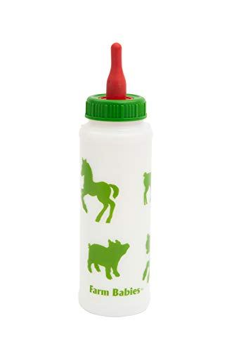Lixit Animal Care Farm Baby Bottle, 1 Quart (30-0472-A12)