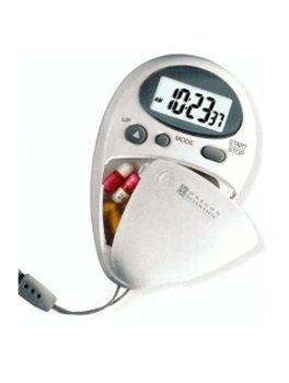 Oregon Scientific SG0218-12 Caja de pillas con temporizador y pulsometro