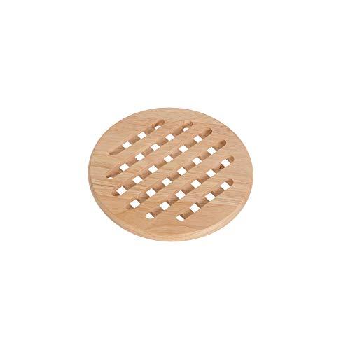 Cosy & Trendy 818172 Dessous de plat, Bois Naturel, diamètre 19,5 cm