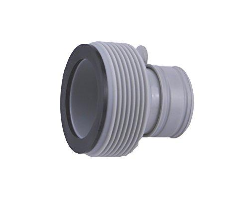 Adapter B für Intex Pool, 2 Stück, verbindet Pools bis 457 cm mit Intex Schraubschlauch von größeren Filteranlagen